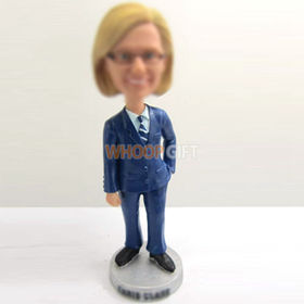 custom police woman bobbleheads