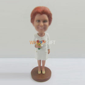 custom Female bobble heads