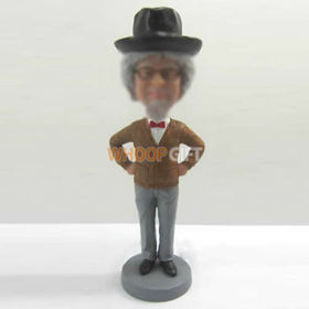 custom Gentleman bobbleheads