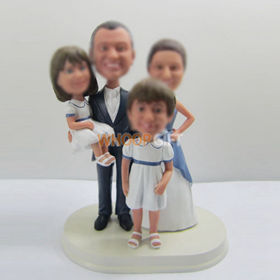 custom family bobble heads