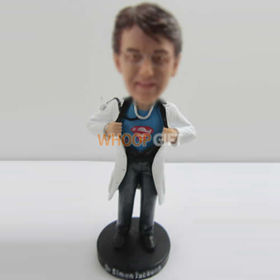 custom doctors look at me bobbleheads