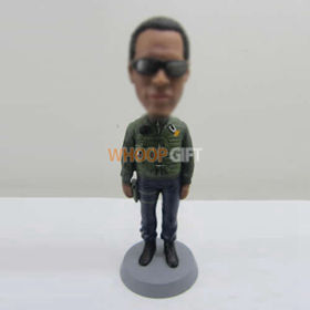 custom Armored soldiers bobbleheads