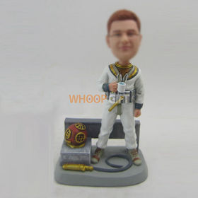 custom work man bobble head