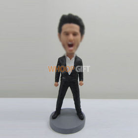 custom Bellowing man bobbleheads
