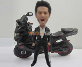 custom Motorcycle bobbleheads