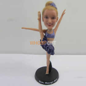 custom Dancer girl bobbleheads