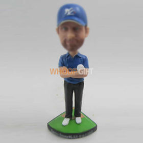 Personalized custom Baseball bobble head doll