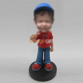 custom happy boy bobbleheads