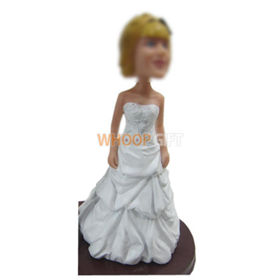 custom bobbleheads of Bride