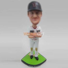 custom Baseball bobble head doll