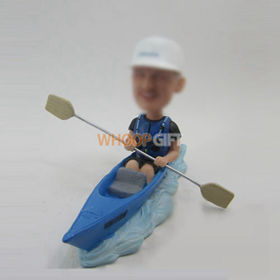 custom male with boat bobbleheads