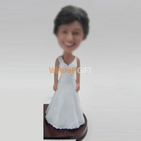 custom Bride bobbleheads