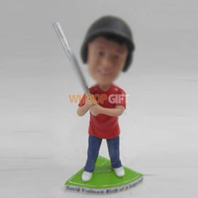 custom play Baseball boy bobbleheads