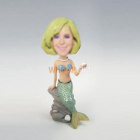 custom Mermaid bobbleheads