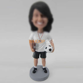 custom football coach bobbleheads