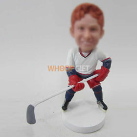 custom Hockey player bobblehead doll