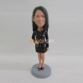custom black Skirt bobbleheads