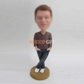 custom gray Sweaters bobbleheads