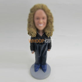 custom work woman bobbleheads
