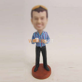 custom man in office bobbleheads