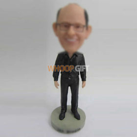 custom black shoes male bobbleheads
