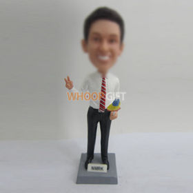 custom Tourist guide bobbleheads