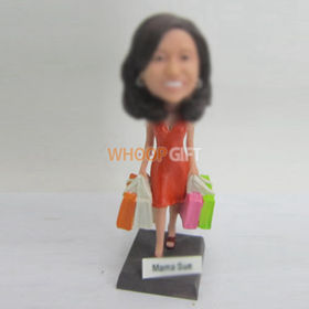 custom shopping bobbleheads