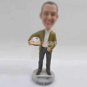 custom brown shoes bobbleheads