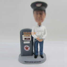 custom Gas station workers bobbleheads