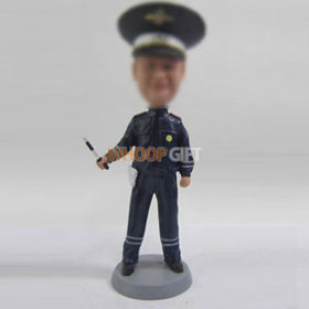 custom police bobble heads
