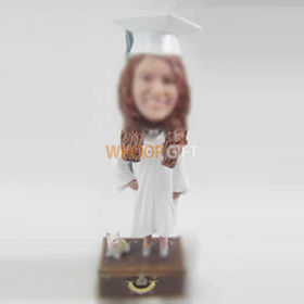 custom Graduation bobble heads