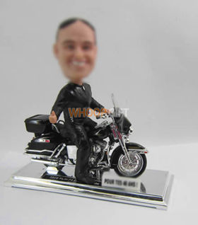 custom Bike Racer bobble heads