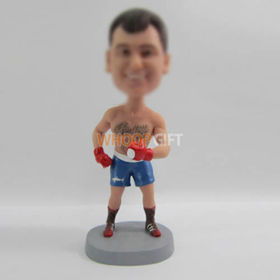 custom Boxer bobble heads