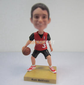 Personalized custom Basketball bobblehead dolls