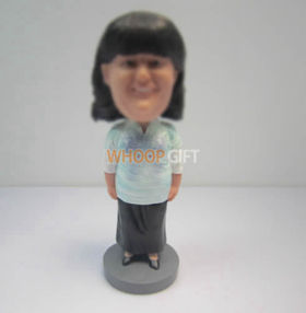 Personalized custom teacher bobblehead