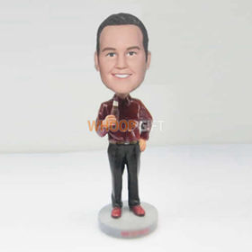 custom hold bear bobbleheads