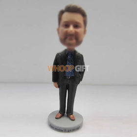 Personalized custom man bobble heads