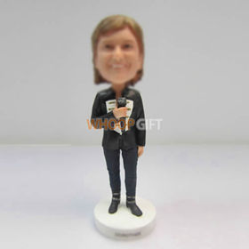 Personalized custom Singer bobbleheads