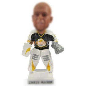 Personalized custom Hockey bobblehead