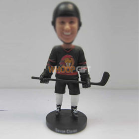 custom Hockey player bobbleheads