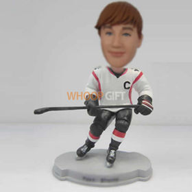 custom Hockey player bobble heads