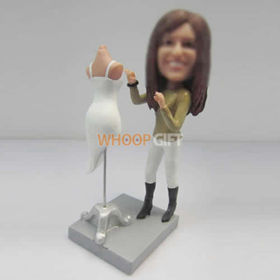 custom Fashion Designers bobbleheads