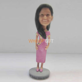 custom Cheongsam girl bobbleheads