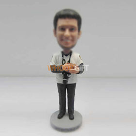 custom Photographer bobble heads
