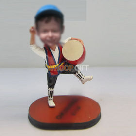 custom happy bobbleheads