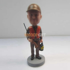 custom Hunter bobbleheads