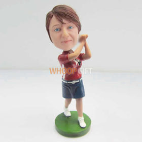 custom golf bobble head