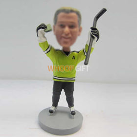 custom Hockey bobble heads