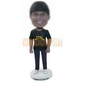 custom Halloween horror costume bobbleheads