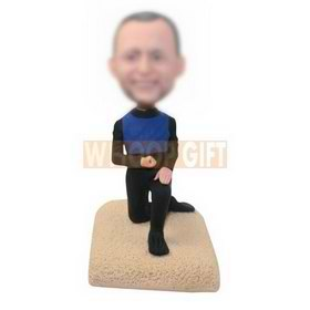 personalized custom marriage proposal bobbleheads